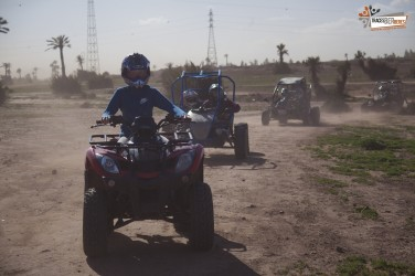 Quad Biking in Palmeraie