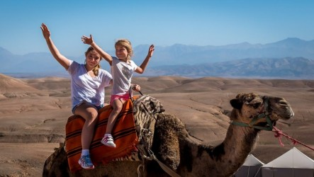 Excursion au désert d'Agafay