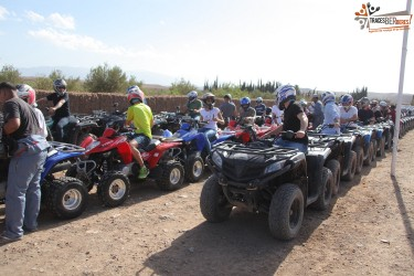 Quad Biking in Agafay Desert
