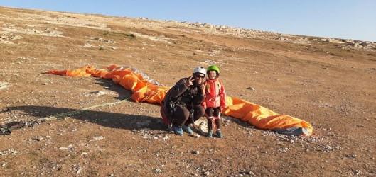 Parapente au Plateau du Kik