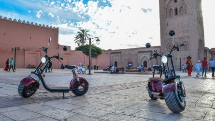 Marrakech en Eco Scooter