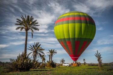 Ballonflug in Marrakech