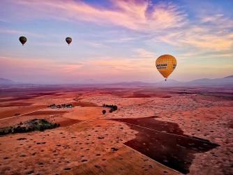 Vol en Montgolfiere à Marrakech
