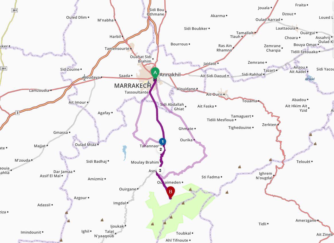 Excursion Imlil et Haut Atlas
